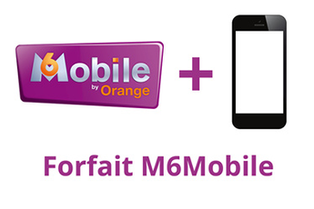 Forfait M6 Mobile 2h - 1Go Orange