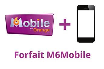 Forfait bloqué M6 Mobile 2h bloqué - 1Go Orange