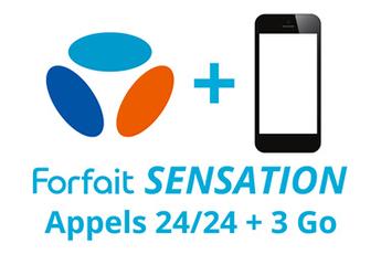 Forfait Forfait SENSATION 24/24 - 3Go Bouygues Telecom
