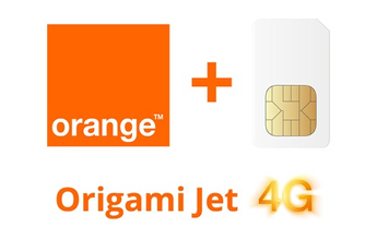 Forfait SIM seule ORIGAMI JET 15GO SIM Orange