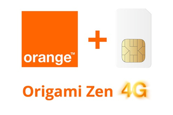 Forfait SIM seule ORIGAMI ZEN 2GO SIM Orange