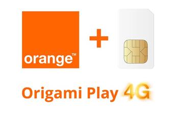 Forfait SIM seule ORIGAMI PLAY 5GO SIM Orange