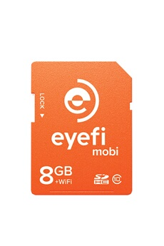 Carte mémoire Eyefi Mobi 8GO WiFi + 90 jours Eyefi Cloud Offerts Eye-fi