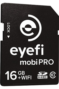 Carte mémoire Eyefi Mobi Pro 16GO WiFi + 1 An Eyefi Cloud Offerts Eye-fi