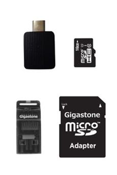 Carte mémoire SDHC 16 Go KIT Gigastone
