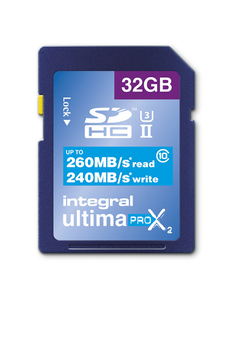 Carte mémoire Ultima Pro X² 32Go Integral