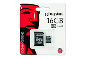 Kingston MICRO SDHC 16 GO - CLASS 4