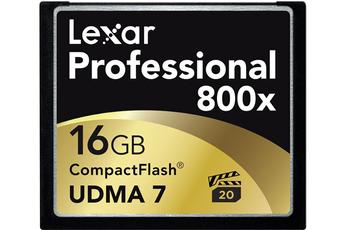 Carte mémoire CF800X 16 GO Lexar