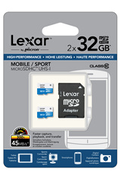 Lexar Micro SD 2 x 32Go 300X