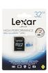 Carte micro SD HIGH PERFORMANCE MICRO SDHC 32 GO Lexar
