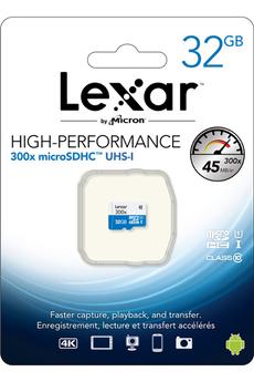 Carte mémoire MSD 300X 32GB Lexar