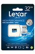 Carte mémoire HIGH PERFORMANCE MICRO SDHC 32 GO Lexar