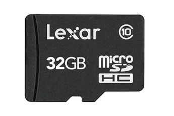 Carte mémoire Micro SDHC VALUE 32Go Lexar