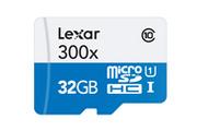 Lexar Micro SDHC 300X 32GO - CLASS 10