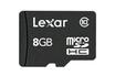 Carte mémoire MICRO SDHC 8 Go Lexar