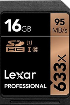 Carte SD SD 633X NEW 16GO Lexar