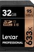 Carte mémoire SD 633X NEW 32GB Lexar