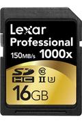 Carte mémoire Lexar SDHC 1000X 16GB CL10