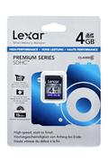 Lexar SDHC 100X 4GO - CLASS 6