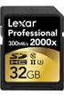 Carte mémoire SDHC 2000X 32GB CL10 Lexar