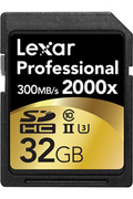 Carte mémoire Lexar SDHC 2000X 32GB CL10