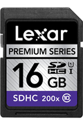 Lexar SDHC 200X 16GO - CLASS 10