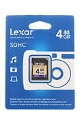 Lexar Media SDHC VALUE 4GO