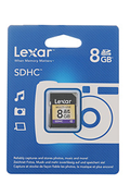 Lexar Media SDHC VALUE 8GO