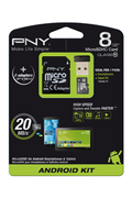 Pny MSD KIT ANDROID 8GB