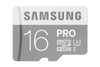 Carte micro SD CARTE MICRO SD EVO PRO U3 16 GO Samsung