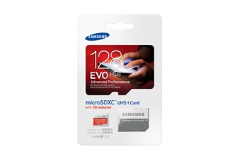 Carte micro SD MSD EVO+ 128GB ADAPT Samsung