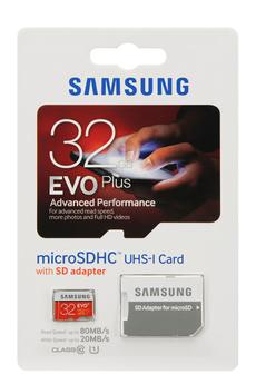 Carte mémoire MSD EVO+ 32GO+ADAPT Samsung