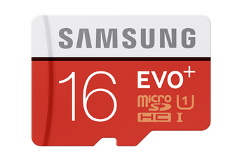 Carte micro SD MSD EVO PLUS 16GB Samsung