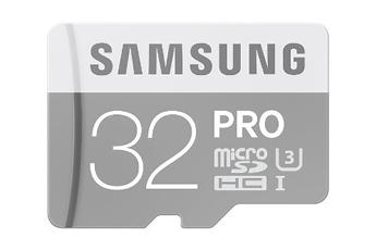 Carte mémoire CARTE MICRO SD EVO PRO U3 32GO Samsung