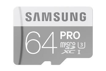 Carte micro SD MSD EVO PRO 64 GB Samsung