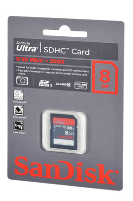 Sandisk CARTM SD U CL10 8 GB