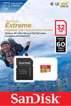Carte mémoire MSD 32GB EXTREME Sandisk
