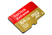 Carte micro SD Sandisk MSD ACTIONCAM 64GB