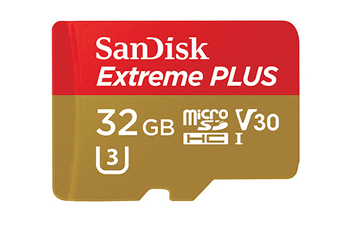 Carte mémoire Micro SD EXTREME PLUS 32GB Sandisk
