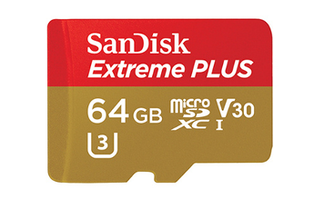 Carte micro SD MSD EXT PLUS 64GB Sandisk