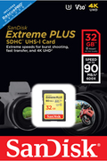 Carte SD Sandisk SD 32G EXTREME PLUS