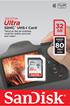 Carte SD ULTRA SDHC 32 Go Sandisk