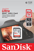 Carte SD Sandisk ULTRA SDXC 64 Go