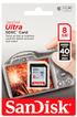 Carte SD ULTRA SDHC 8 Go Sandisk