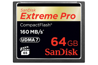 Compact Flash CF EXTREME PRO udma 6 64GO - 90MO/S Sandisk