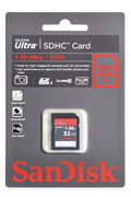 Sandisk SDHC ULTRA 32GO - CLASS 10