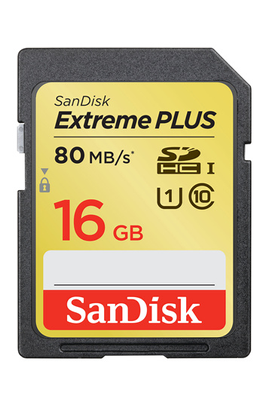 Sandisk SDXC 16 GO - CLASS 10