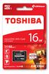 Carte mémoire Carte micro SD M301 16GB Toshiba