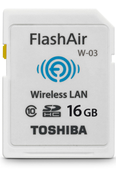 Carte SD Carte SD Wifi flashair 16Gb Toshiba