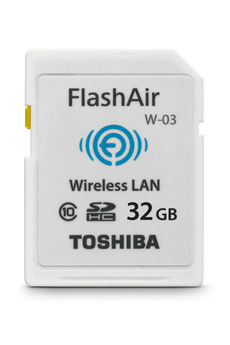 Carte SD Carte SD Wifi flashair 32Gb Toshiba
